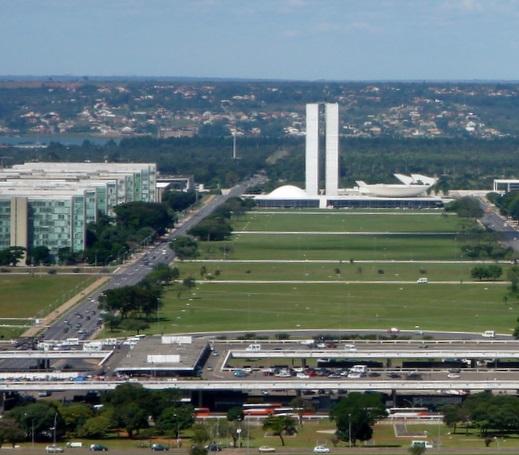 O clima em Brasília
